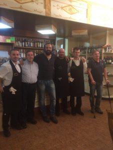 Omar Pedrini con Ennio, Paolo,Daniele,Alberto , Edoardo